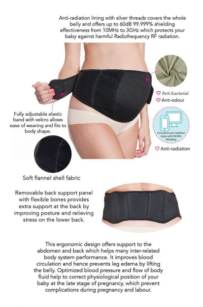 Triple Support Maternity Belt