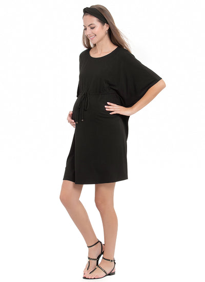 Black Maternity Kaftan