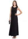 Maternity evening dress in black