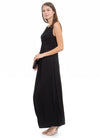 Porto Sleeveless Maternity and Nursing Maxi Dress