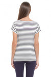 Positano Striped Maternity and Nursing Top