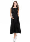 Panarea Maternity and Nursing Midi Dress
