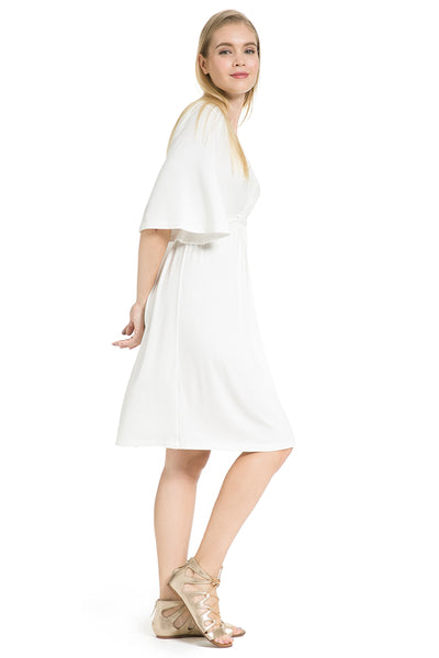 Tulum Dress in White