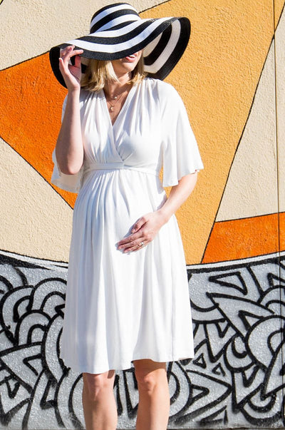 Tunic style Tulum Maternity and Nursing Dress