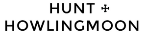 hunt and howlingmoon logo for best handmade dog collars made in cape town south africa