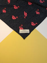 dog bandana flamingo print by hunt and howlingmoon