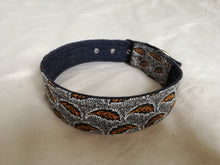 brown vegan dog collars by hunt and howlingmoon made in south africa