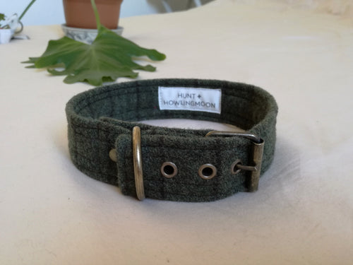 adjustabale woold dog collars made in cape town