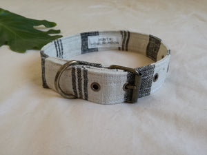best dog collar made from natural linen in Cape Town South Africa