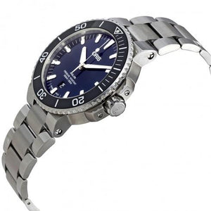 Aquis Automatic Blue Dial Men's Watch