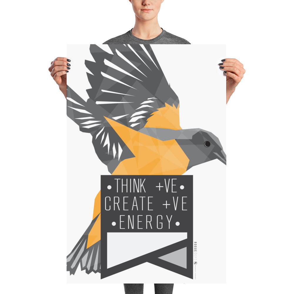 Think +ve Create +ve Energy