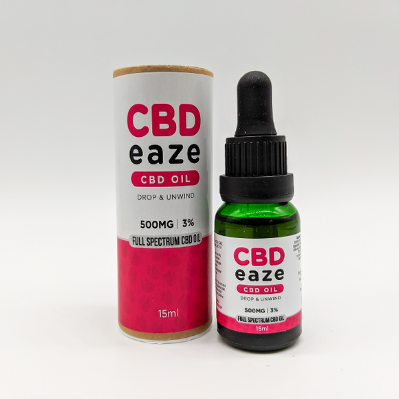 500mg CBD Oil Drops 15ml