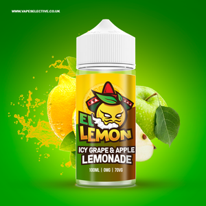 Icy Grape & Apple Lemonade 100ml