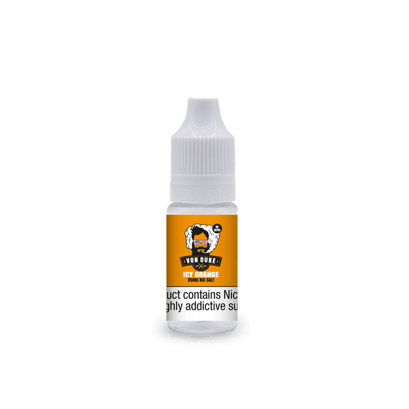 Nic Salt Icy Orange Von Duke 10ml