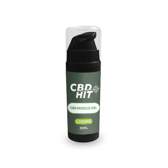 CBD Hit Muscle Gel 30ml - 1200mg