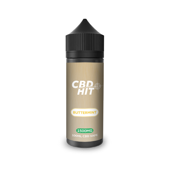 CBD Hit Butter Mint E-Liquid 1500mg - 100ml
