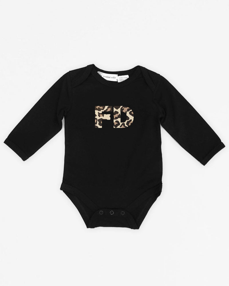 Initials | Bodysuit Long Sleeve