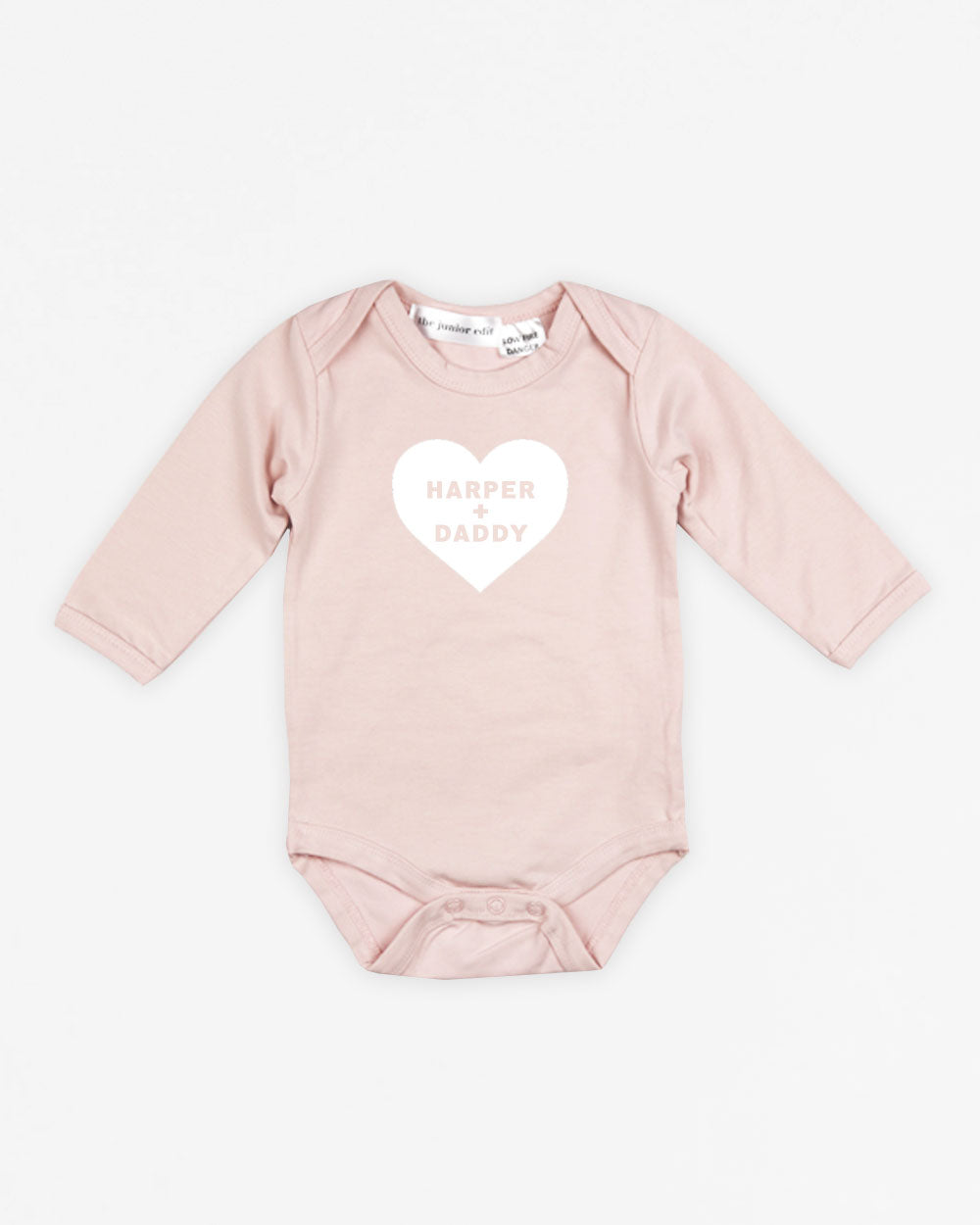 I Heart Daddy | Bodysuit Long Sleeve