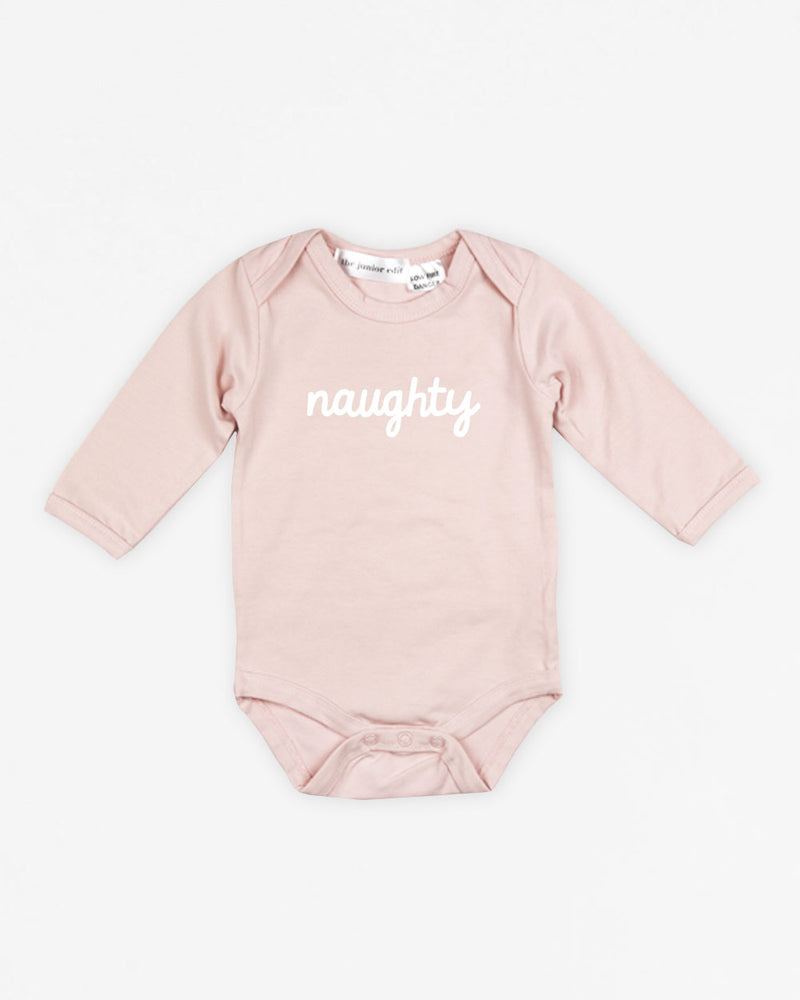 Naughty | Bodysuit Long Sleeve