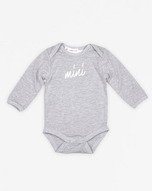 Mini Signature | Bodysuit Long Sleeve