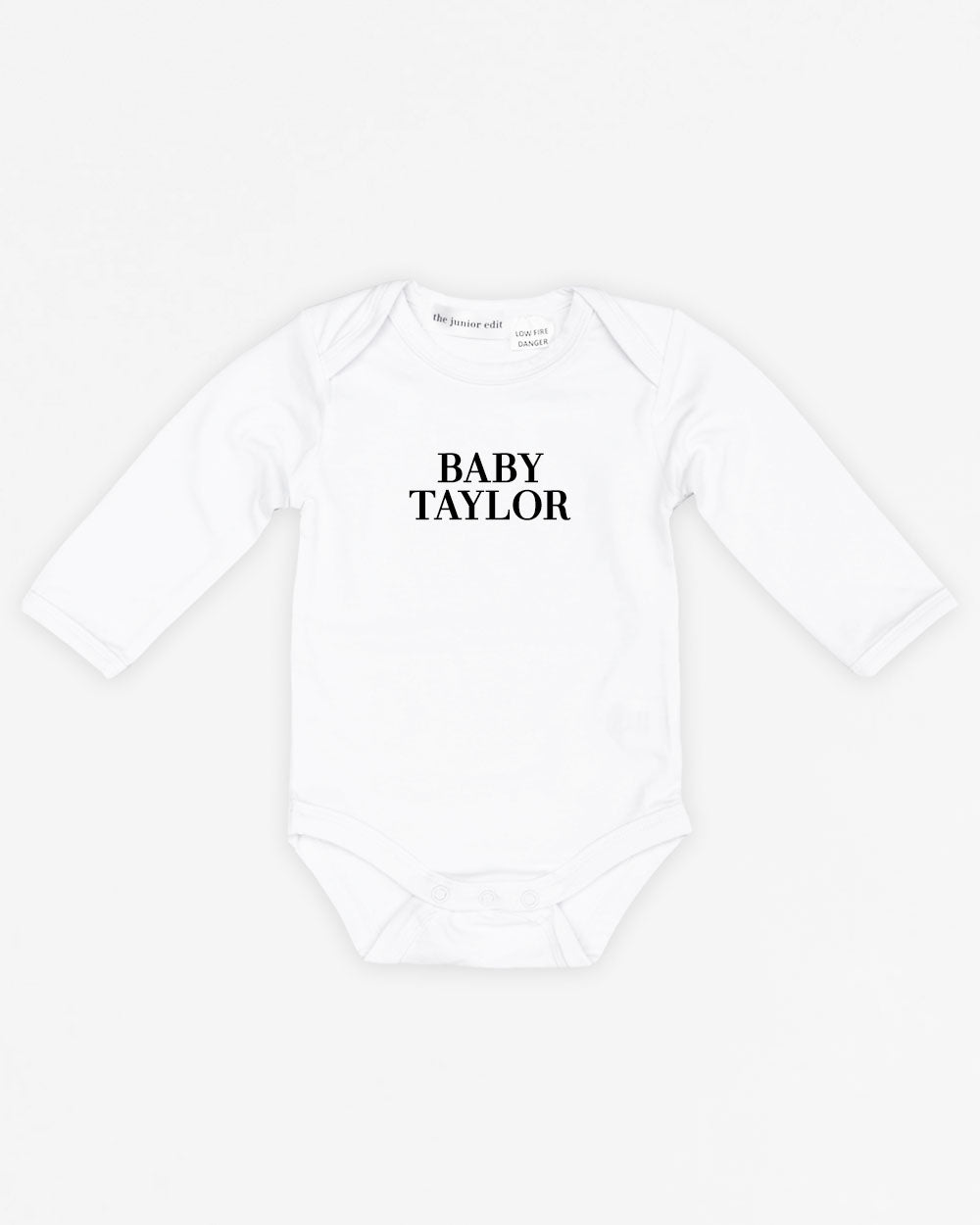 Baby Name Classic | Bodysuit Long Sleeve