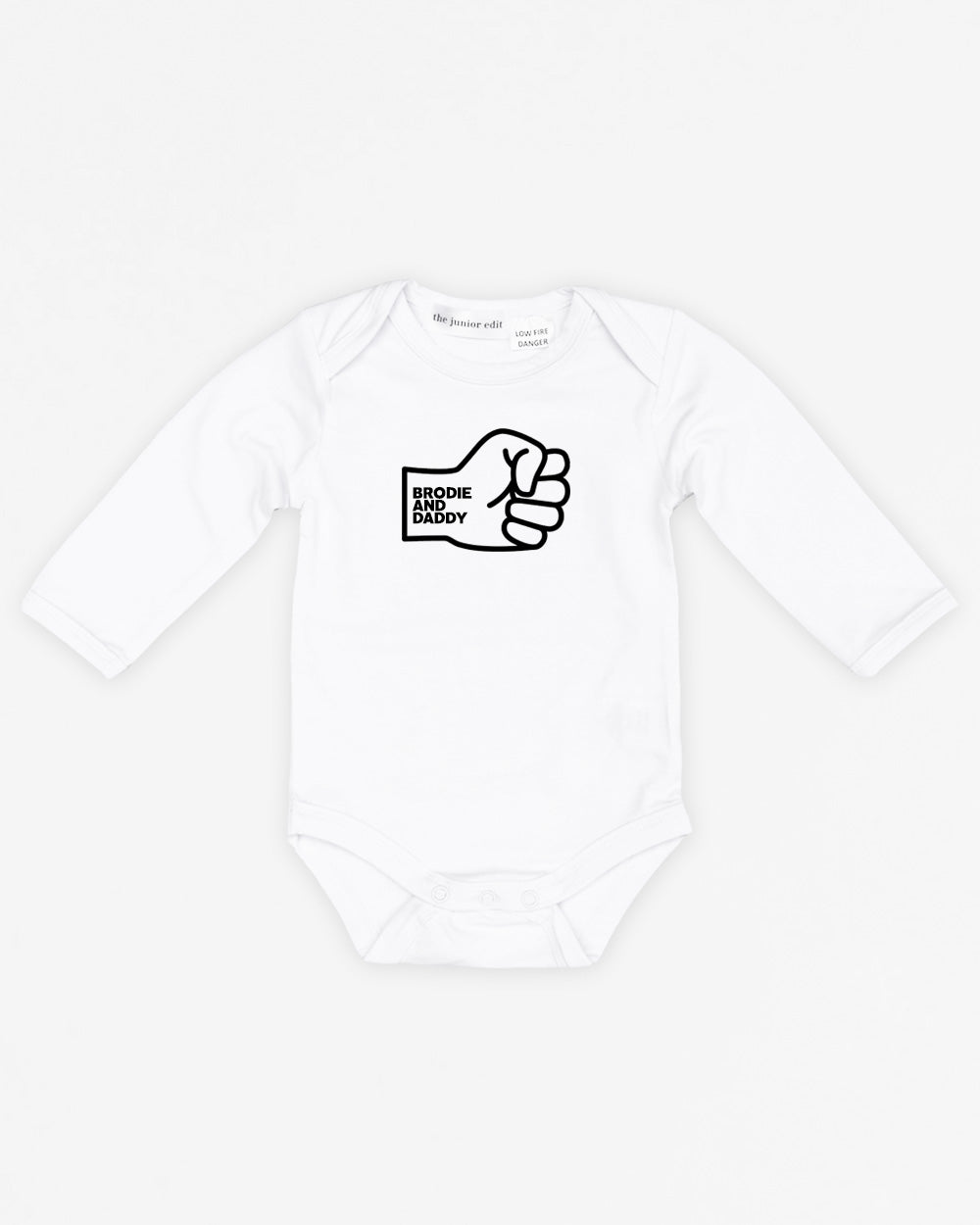 Fist Bump Daddy | Bodysuit Long Sleeve
