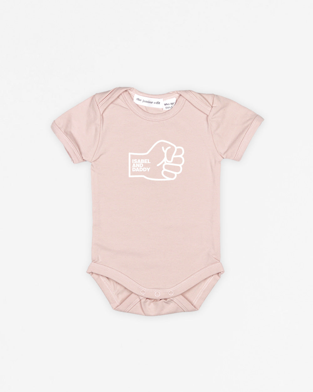 Fist Bump Daddy | Bodysuit Short Sleeve
