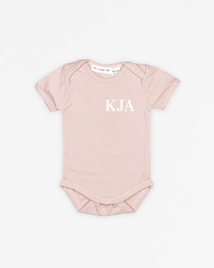 Monogram Classic | Bodysuit Short Sleeve