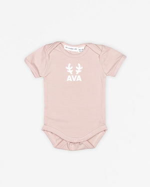 Name Reindeer | Bodysuit Short Sleeve