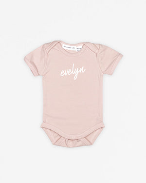 Name Signature | Bodysuit Short Sleeve