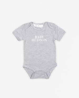 Baby Name Classic | Bodysuit Short Sleeve