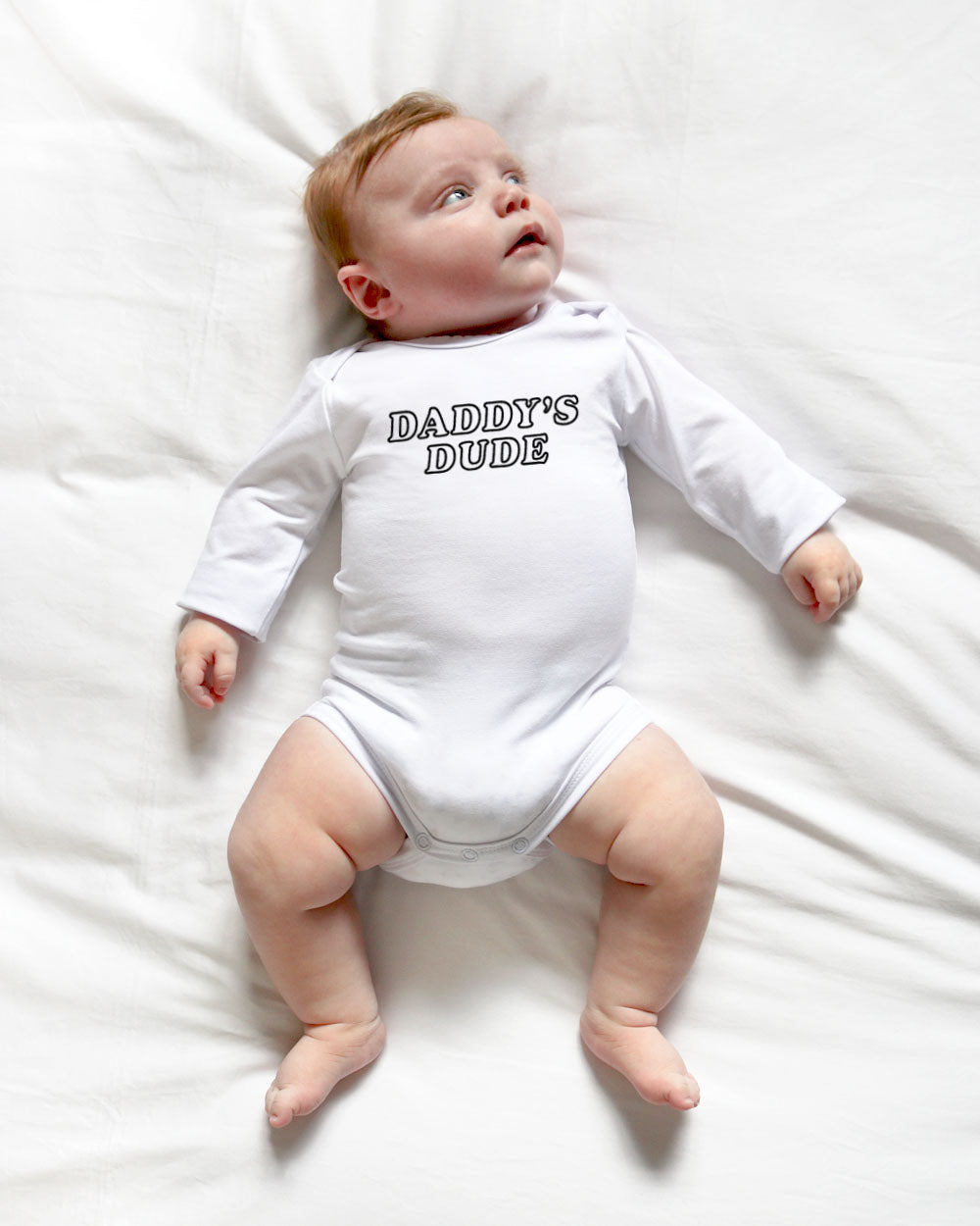 Daddy's Dude | Bodysuit Long Sleeve