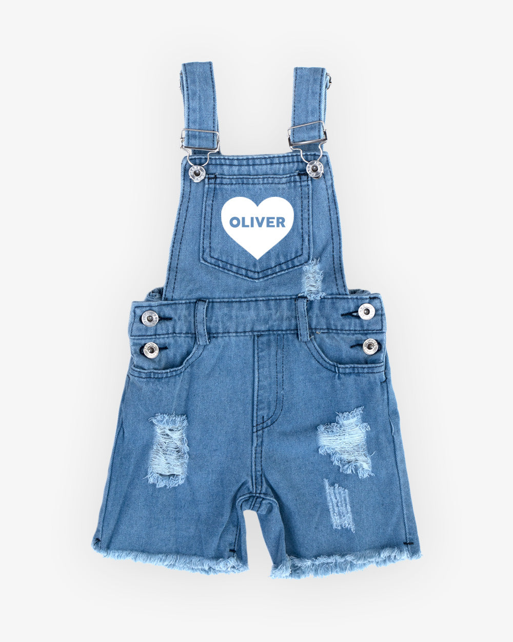 Name Heart | Overalls