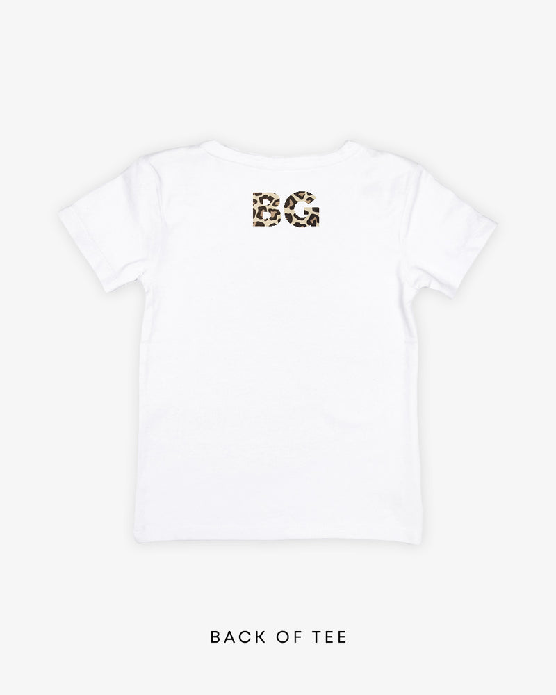Monogram Block (Back) | Tee