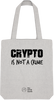Image of Tote Bag 'Crypto is not a Crime'