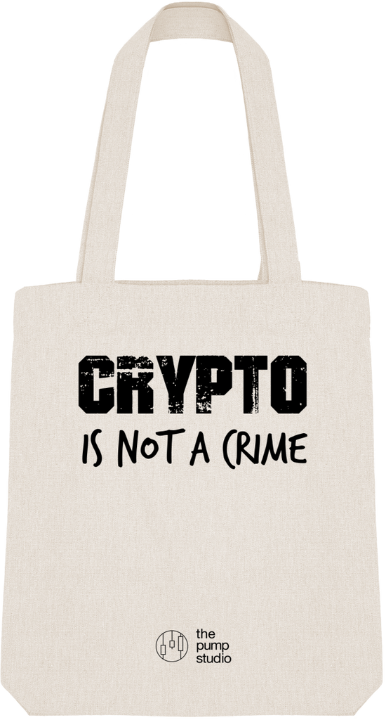 Tote Bag 'Crypto is not a Crime'
