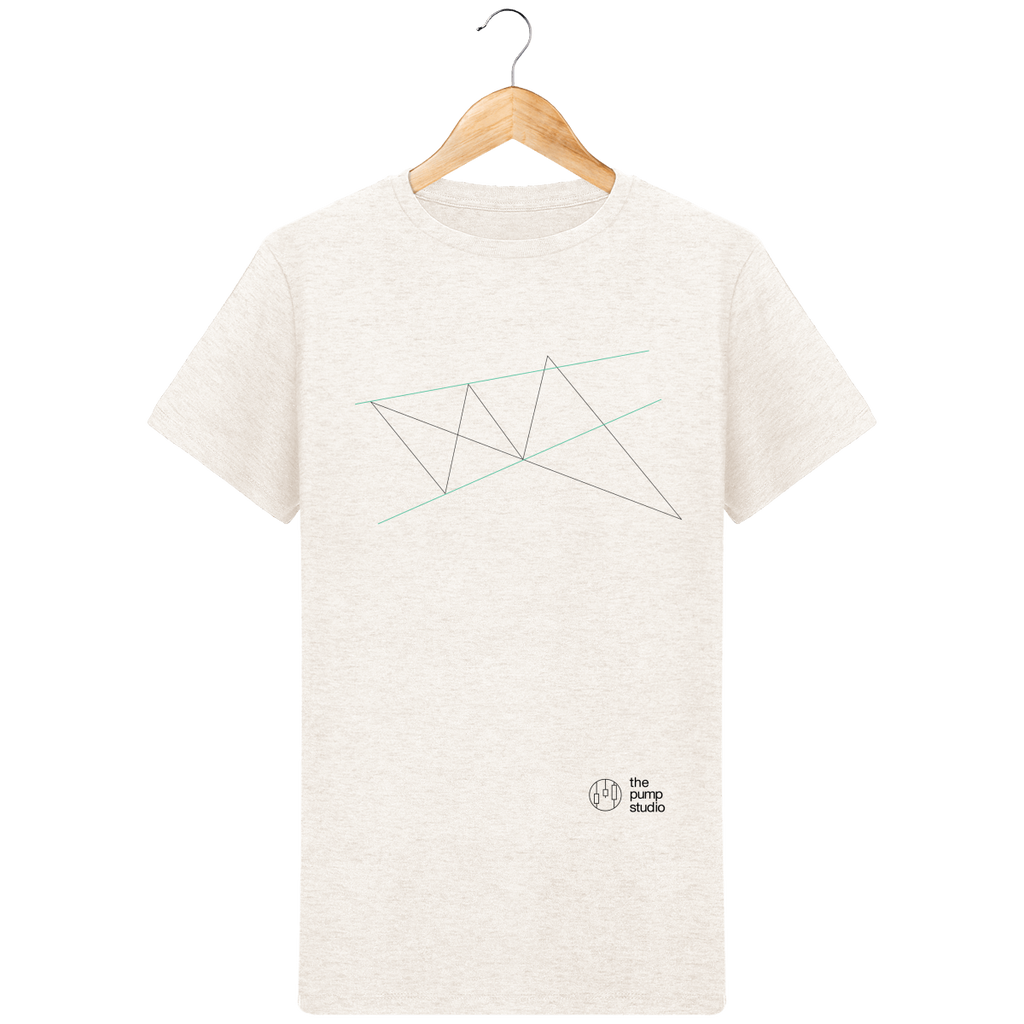 T-Shirt Homme 'Wolfe Wave'