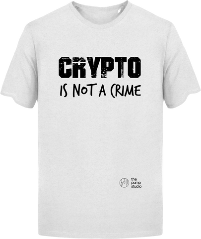 T-Shirt Epais 'Not a Crime'