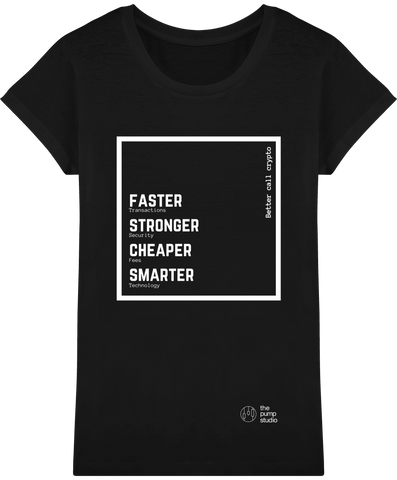 T-Shirt Femme 'Better Call Crypto'