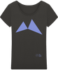Image of T-Shirt Fluide Femme 'Blue Shark'