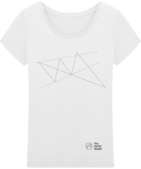 T-Shirt Fluide 'Wolfe Wave'