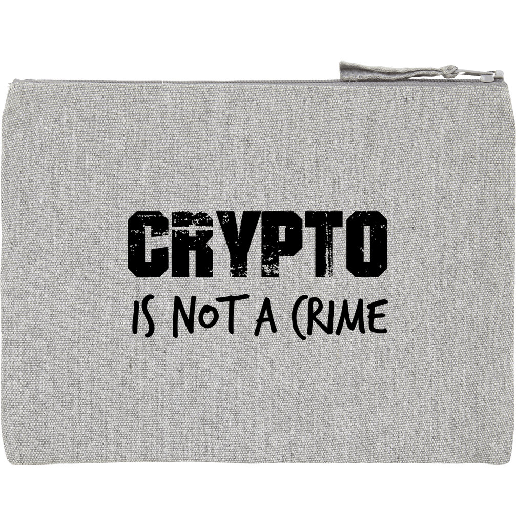 Pochette 'Crypto is not a Crime'
