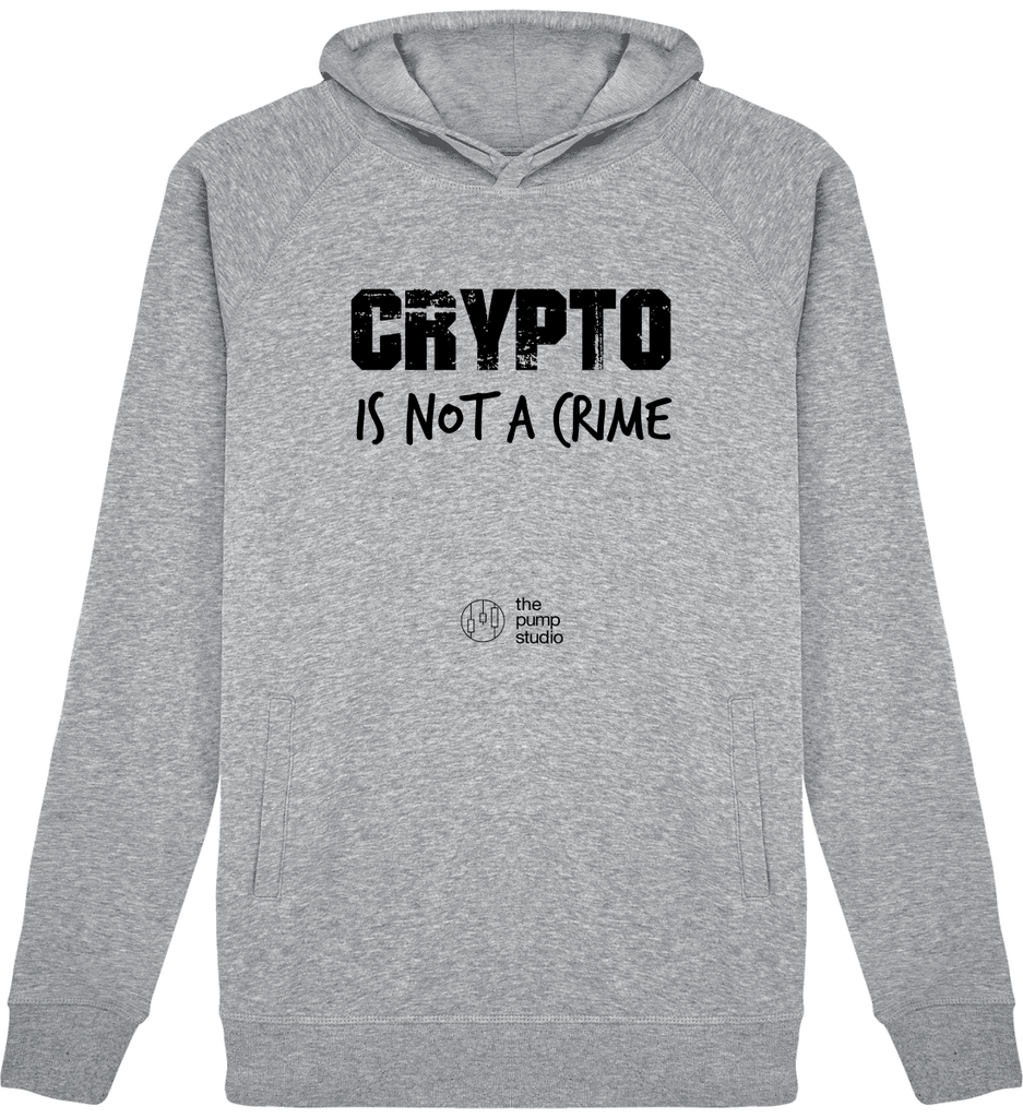 Sweat Capuche H/F 'Not a Crime'