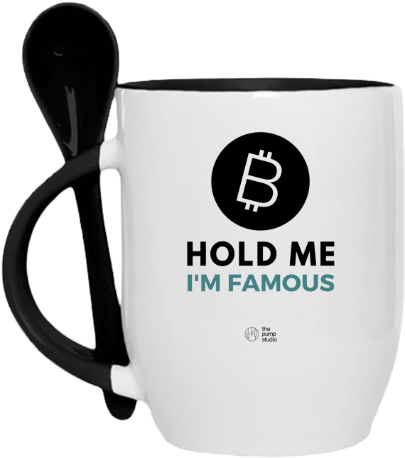 Tasse Cuillère 'Hold Me I'm Famous'