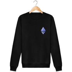 Sweat Col Rond 'Ethereum'