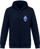 Image of Sweat Capuche Zippé 'Ethereum'