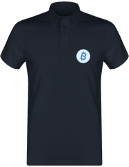 Polo Homme 'Blue Bitcoin'