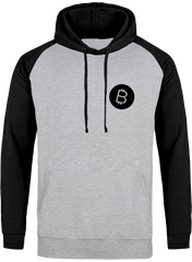 Sweat Capuche Homme 'Bitcoin'