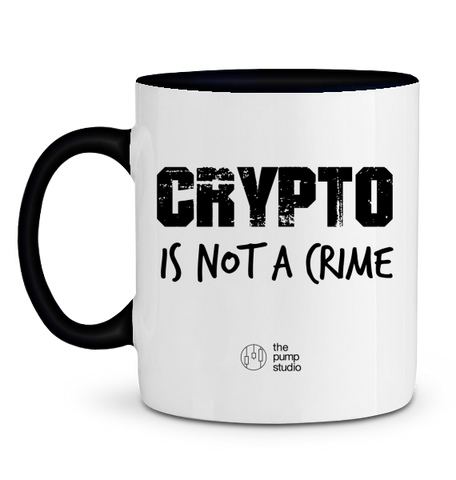 Mug 'Crypto is Not a Crime'