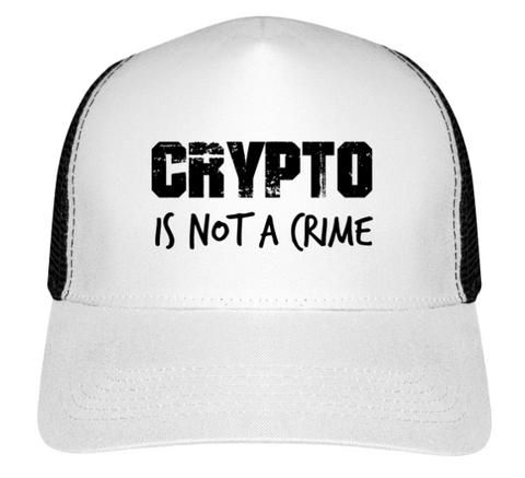 Casquette 'Crypto is Not a Crime'